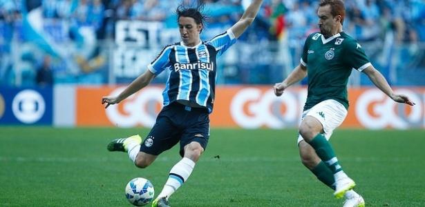 Pedro Geromel foi o último quadro de caxumba no elenco do Grêmio - Lucas Uebel/Grêmio
