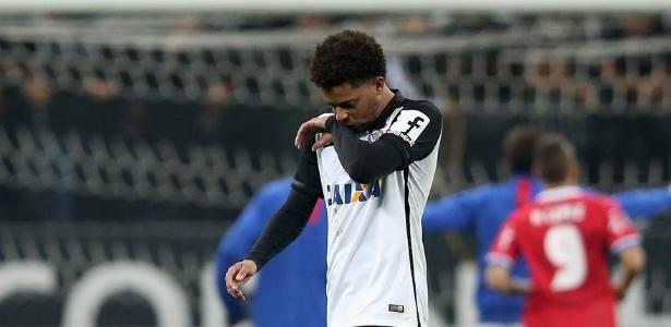 O atacante André, do Corinthians