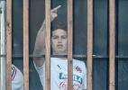 Foto de James Rodriguez mostrando o dedo do meio causa polêmica na Colômbia - AFP PHOTO / Luis Acosta