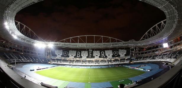 Estádio Nilton Santos será palco de Vasco x Santos com portões fechados