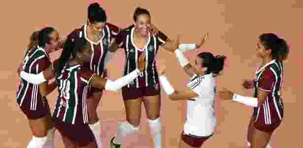 Time de vôlei do Flu - Mailson Santana/Fluminense - Mailson Santana/Fluminense