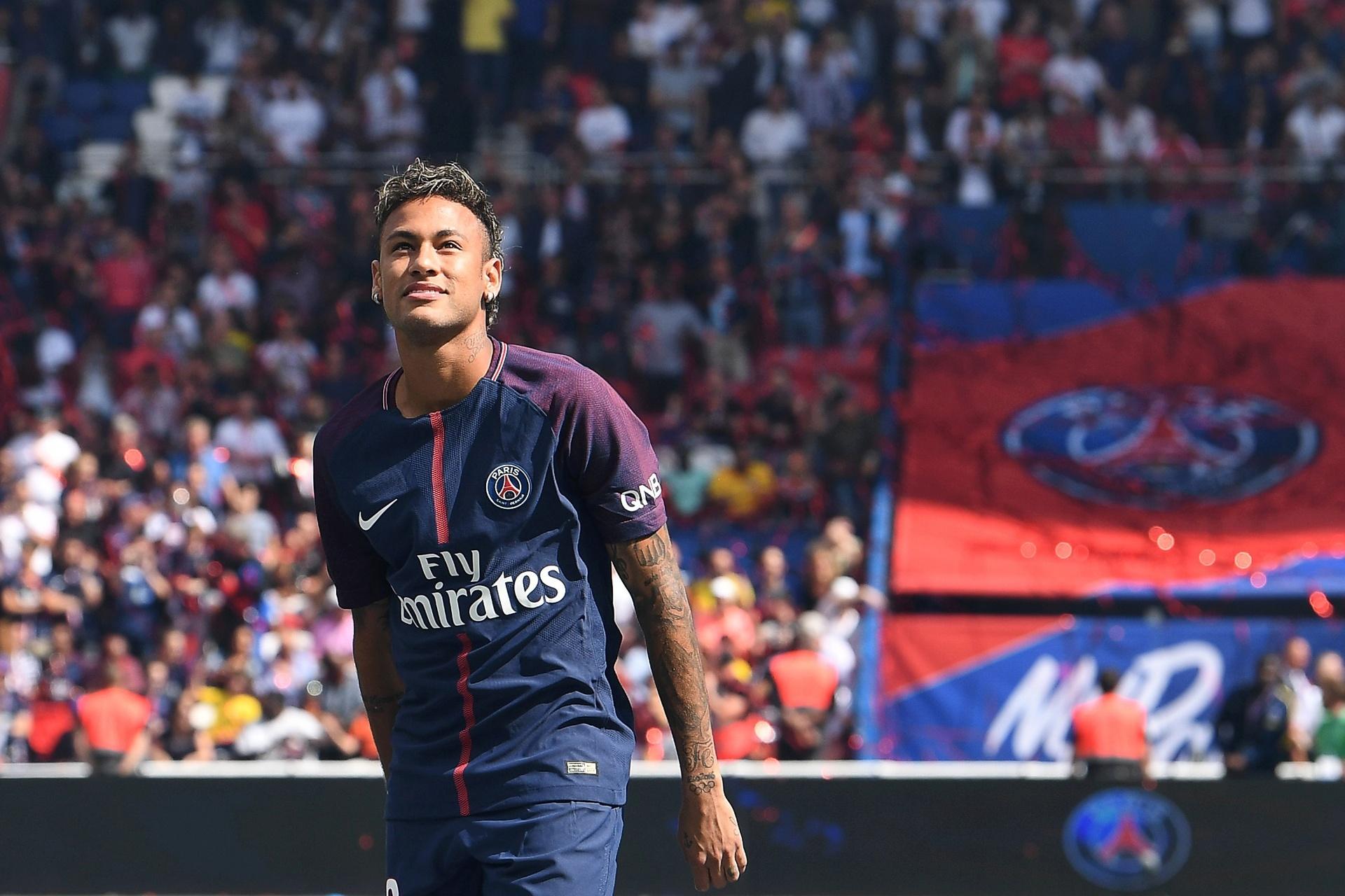 Neymar na visão da mídia francesa