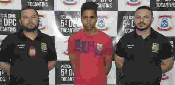 De acordo com a Polícia Civil, Matheus Rodrigues confessou ter matado treinador  - Polícia Civil Tocantins