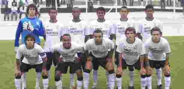 Igor foi capitão na base. Na foto também estão Marquinhos (PSG) e Hyoran (Palmeiras) - Acervo pessoal