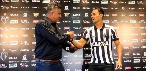 Ricardo Oliveira vai estrear pelo Atlético-MG contra o Democrata-GV - Bruno Cantini/Clube Atlético Mineiro