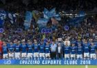 Uniforme do Cruzeiro em estreia no Mineiro tem problema com patrocinador