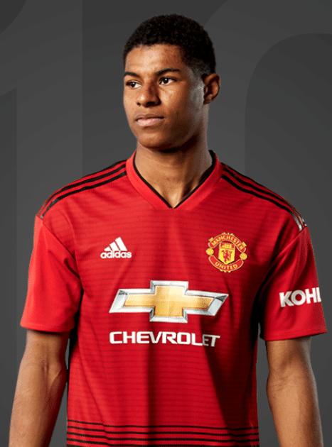 Marcus Rashford, atacante do Manchester United