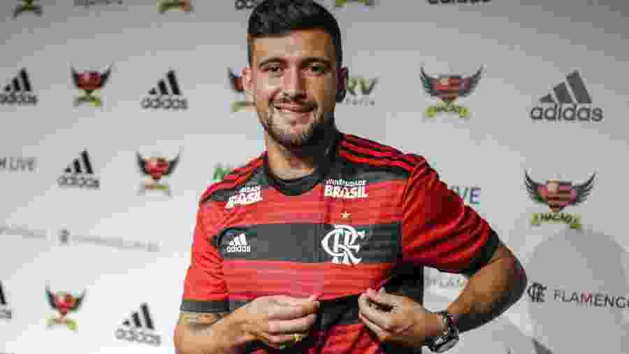 Arrascaeta foi a contratação mais cara da história do Flamengo - Marcelo Cortes / Flamengo.com.br