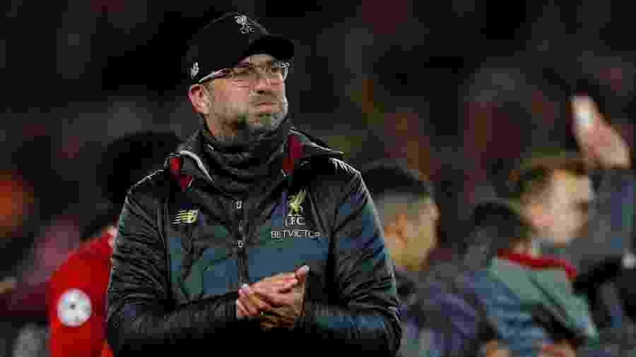 Jurgen Klopp, técnico do Liverpool - Phil Noble/Reuters