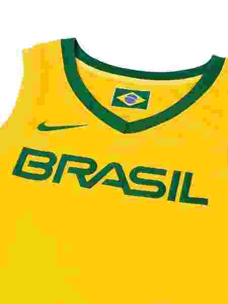 Uniforme da seleção brasileira masculina de basquete - Divulgação/Nike