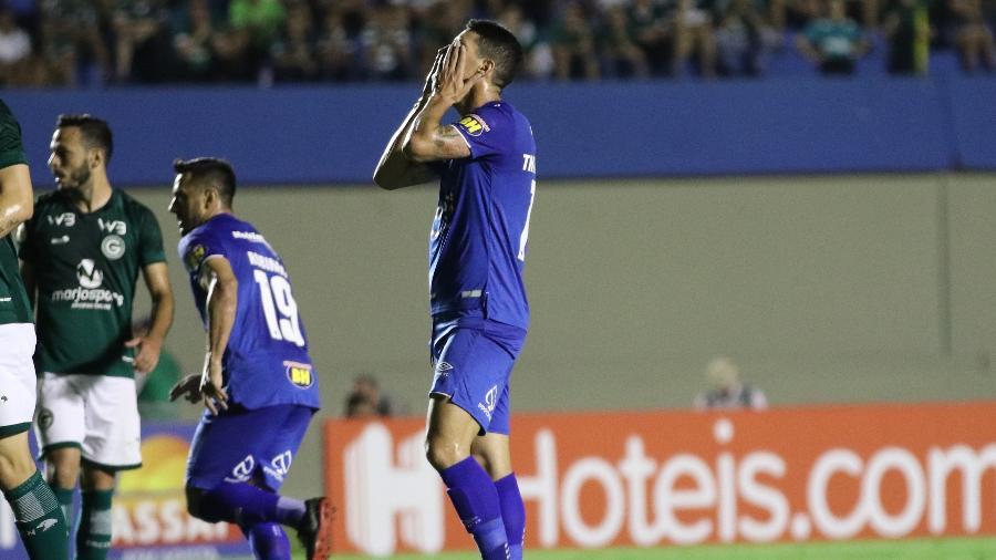Thiago Neves tem contrato até o final do ano, mas entrou na justiça para tentar rescisão com o Cruzeiro - Heber Gomes/AGIF