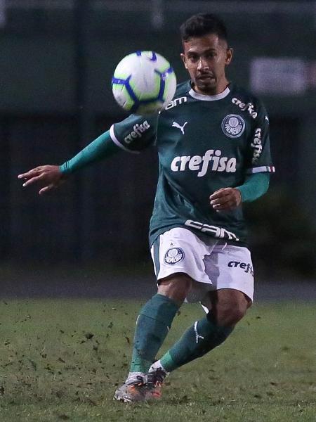 Alan Guimarães, o Alanzinho, será promovido aos profissionais do Palmeiras - Fabio Menotti/Ag. Palmeiras/Divulgação