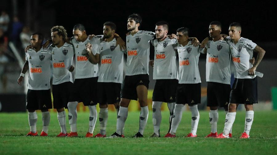 Elenco do Atlético-MG recusou redução salarial de 50% em meio à pandemia do novo Coronavírus - Bruno Cantini/Agência Galo