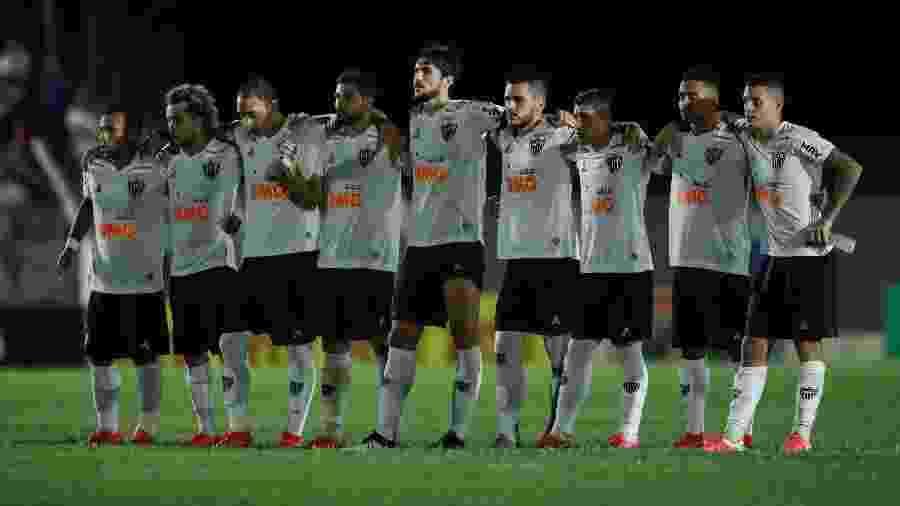 Jogadores do Atlético-MG acataram decisão da diretoria sobre corte salarial de até 25% durante pausa do calendário - Bruno Cantini/Agência Galo