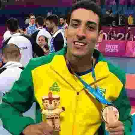 Rodriguinho, bronze no Pan com o vôlei - Reprodução/Instagram