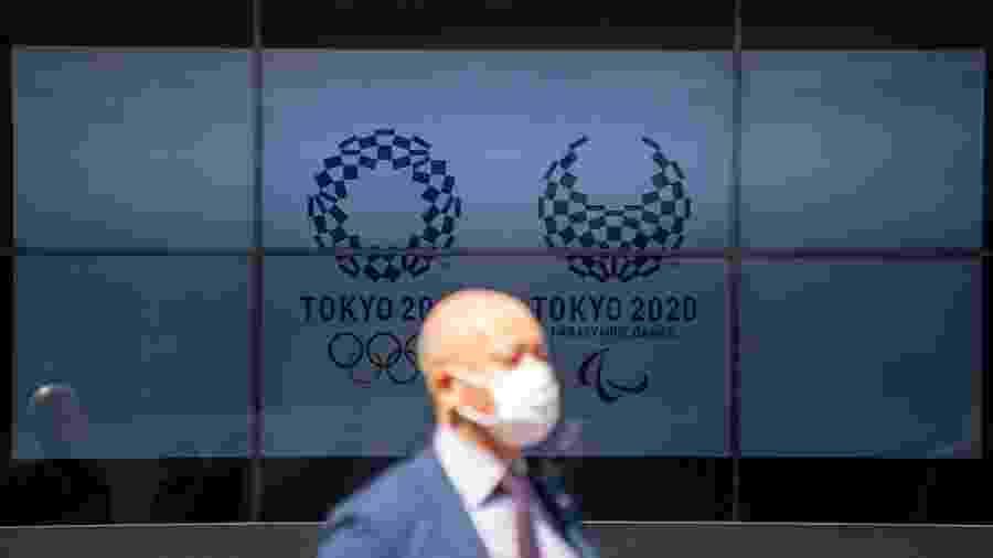 Em março, o governo japonês e o COI tomaram a decisão sem precedentes de adiar as Olimpíadas de Tóquio até 2021 - NurPhoto/NurPhoto via Getty Images