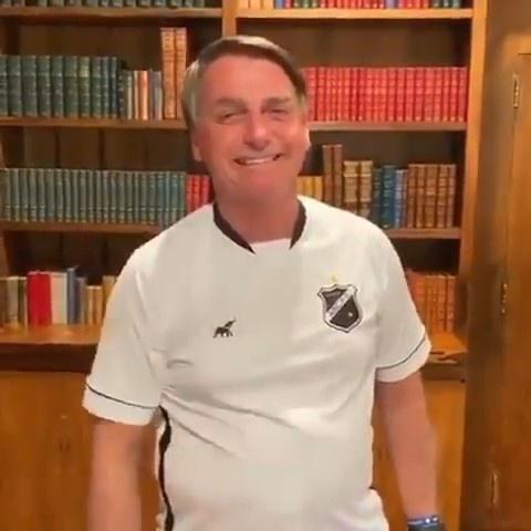 Vídeo de Jair Bolsonaro foi publicado nas redes sociais