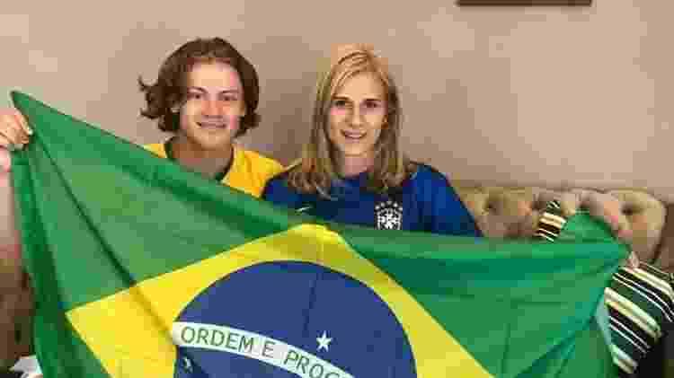 Lucas Pinheiro, campeão da Copa do Mundo de Esqui - Arquivo pessoal - Arquivo pessoal