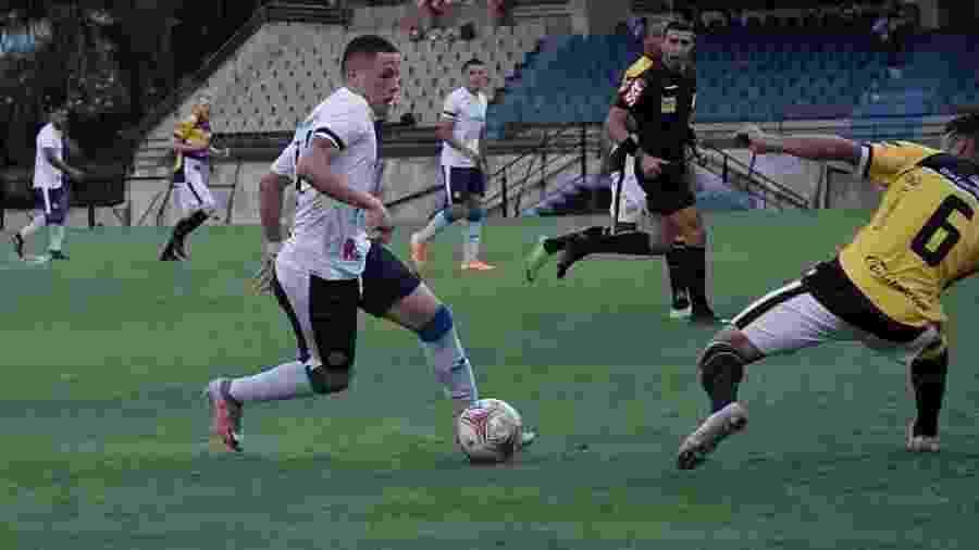 Com apenas 12 jogadores, São Bento conseguiu empatar com o Criciúma  - Reprodução