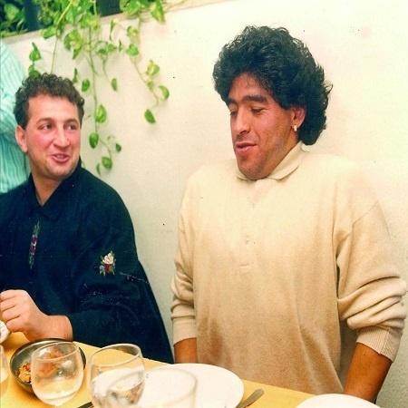 Gennaro Montuori e Maradona