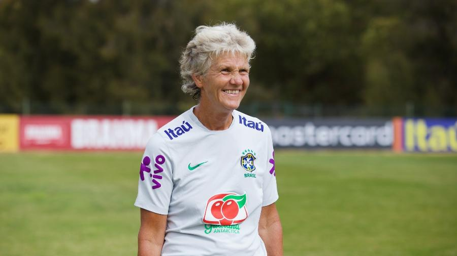 Pia Sundhage, técnica da seleção feminina de futebol - Facebook/CBF