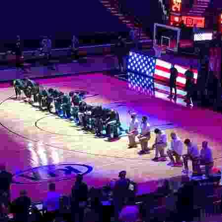 Miami Heat e Boston Celtics divulgaram manifesto após invasão ao Capitólio - Divulgação/Twitter