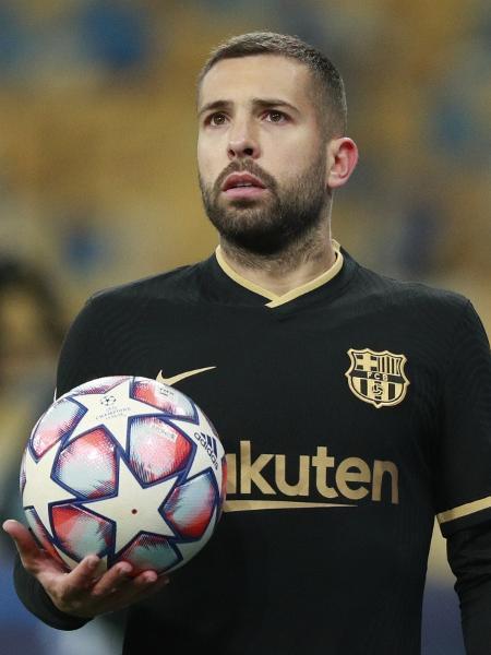 Jordi Alba, lateral do Barcelona - REUTERS/Valentyn Ogirenko
