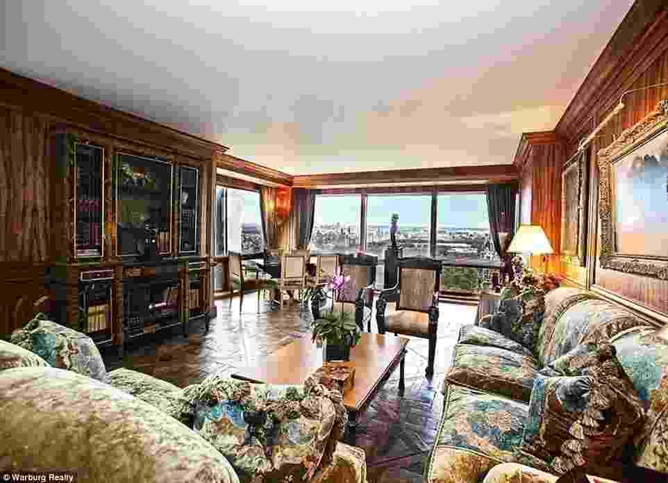 Luxuoso apartamento comprado por Cristiano Ronaldo em Nova York - Reprodução/Daily Mail/Warburg Realty