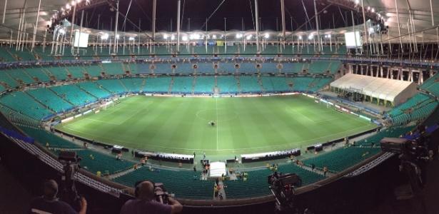 Arena Fonte Nova terá 15% da sua área destinada à torcida mista