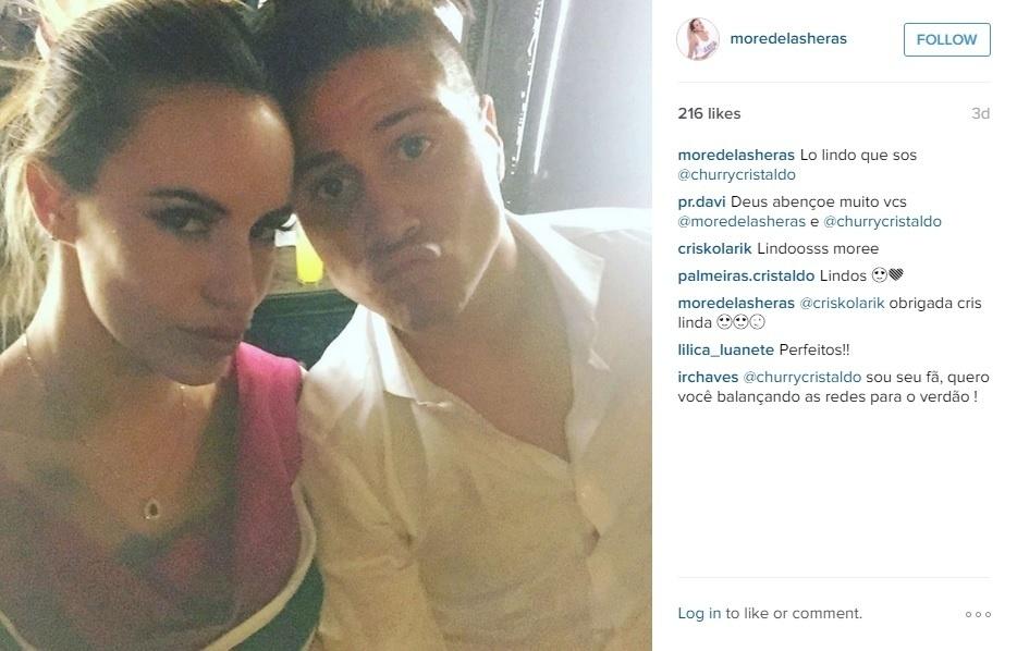 Morella está casada com Cristaldo há dois anos