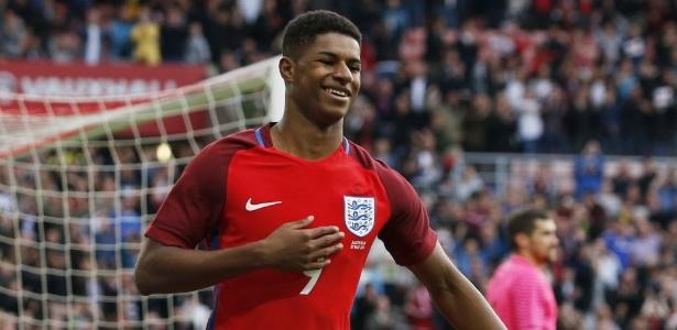Jogador é uma das maiores promessas do futebol inglês