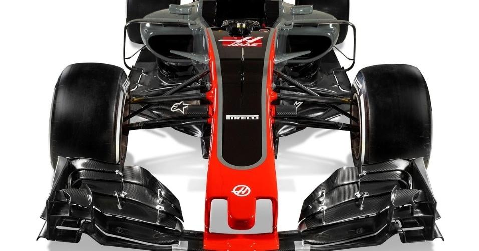 Lançamento do carro da Haas para a temporada 2017 da F-1
