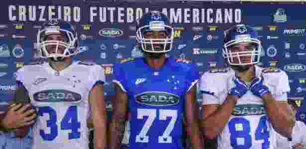 Depois do sucesso no vôlei, Cruzeiro sonha alto com time de futebol americano - Yuri Edmundo/Cruzeiro
