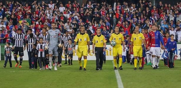 Atlético-MG e Paraná têm ambições bem diferentes nesta temporada
