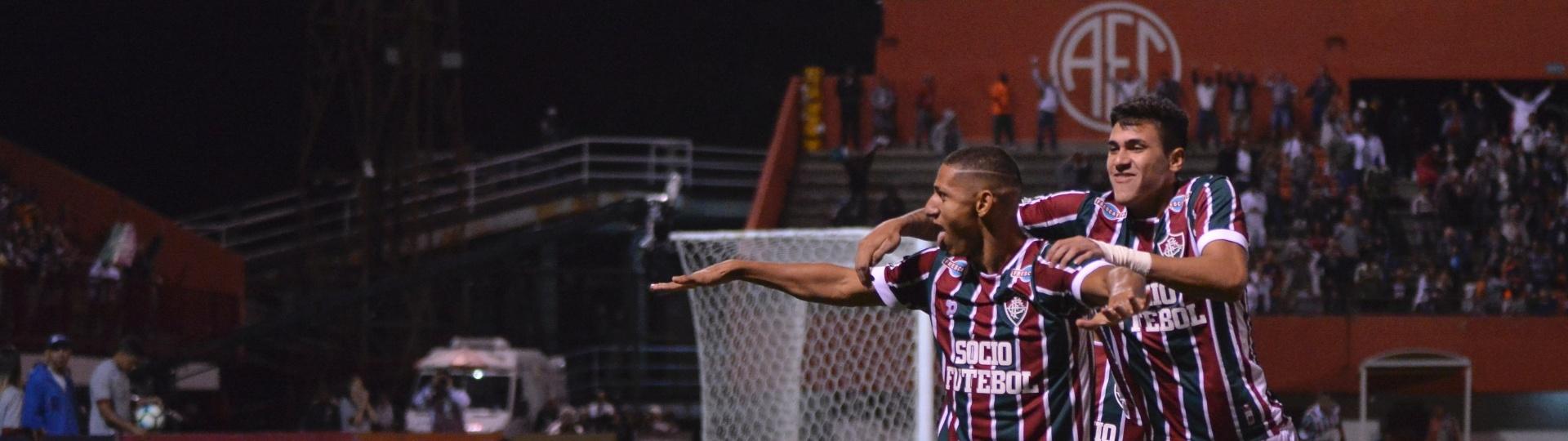Richarlison abriu o placar para o Fluminense contra a Chapecoense