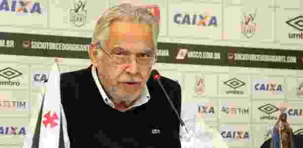 Presidente do Vasco, Eurico Miranda prometeu que treinos do time serão abertos - Paulo Fernandes/Vasco.com.br