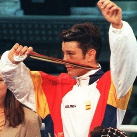 Faustino Reyes, boxeador espanhol que ganhou a prata na Olimpíada de 2000 - Reprodução/Twitter
