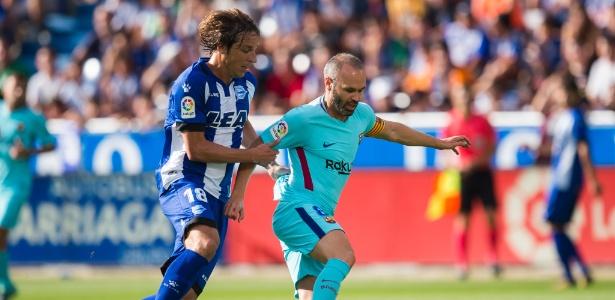 Iniesta está com 33 anos e tem contrato até o meio de 2018