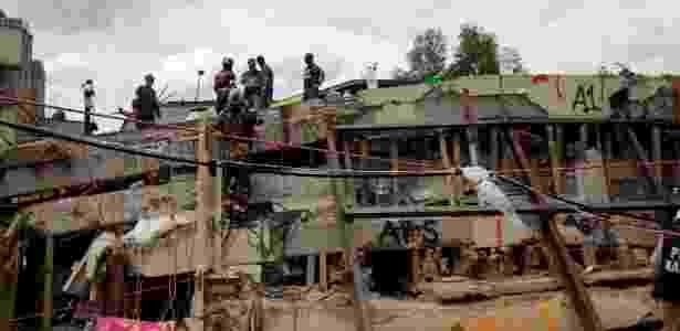 Garoto fã de Messi foi encontrado sob os escombros de escola destruída no México - Jose Luis Gonzalez/Reuters - Jose Luis Gonzalez/Reuters