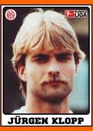 JÜRGEN KLOPP, técnico do Liverpool, era zagueiro na década de 1990 e jogou 11 temporadas no Mainz 05, da Alemanha