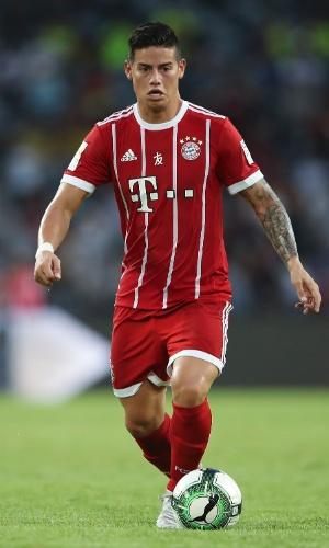 James Rodriguez, colombiano do Bayern de Munique