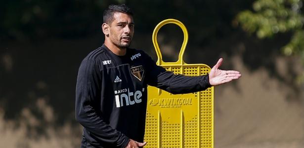 Diego Souza virou uma das principais referências na equipe do São Paulo neste ano - Marcello Zambrana/AGIF