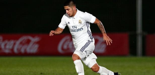 Sergio Díaz tem 20 anos e vem de lesão que impediu sequência de jogos na Espanha - Divulgação/Real Madrid Castilla