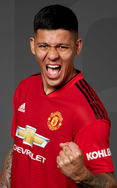 Marcos Rojo, lateral do Manchester United