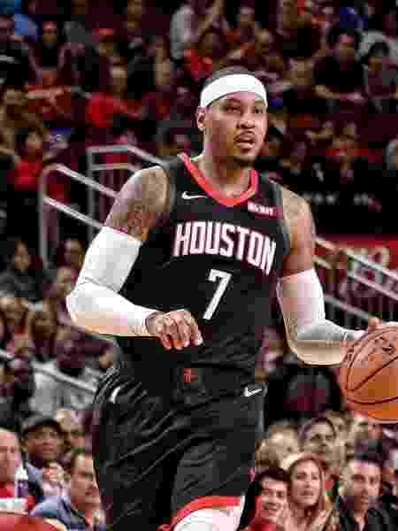 Carmelo Anthony - Divulgação/Houston Rockets