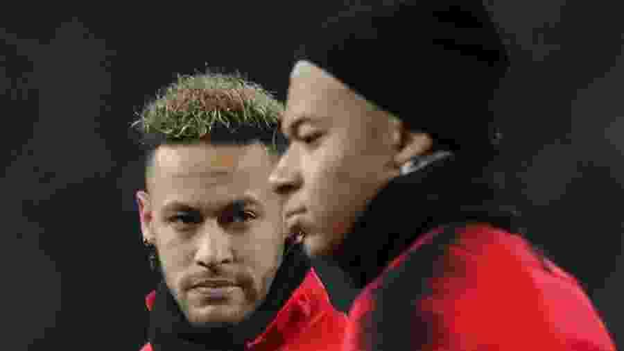 Neymar e Mbappé desfalcam o Paris Saint-Germain - REUTERS/Marko Djurica