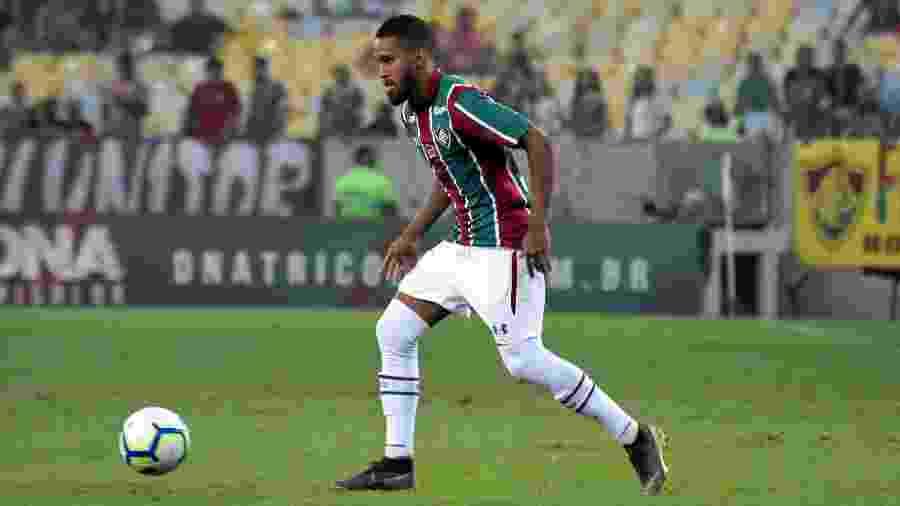 Atacante Everaldo disputa suas últimas partidas pelo Fluminense antes de transferência para o Corinthians - Mailson Santana/Fluminense