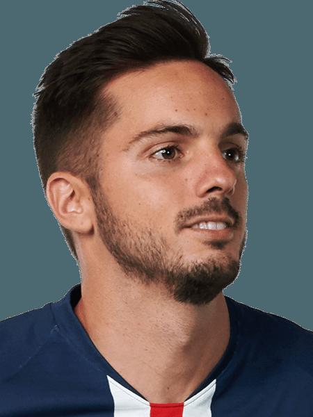 Sarabia, meio-campista do PSG - Divulgação/Site oficial do PSG