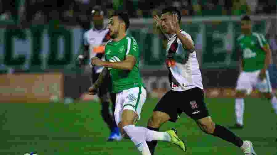 Vasco e Chapecoense se enfrentam neste domingo no Maracanã pela última rodada do Campeonato Brasileiro - Márcio Cunha | ACF