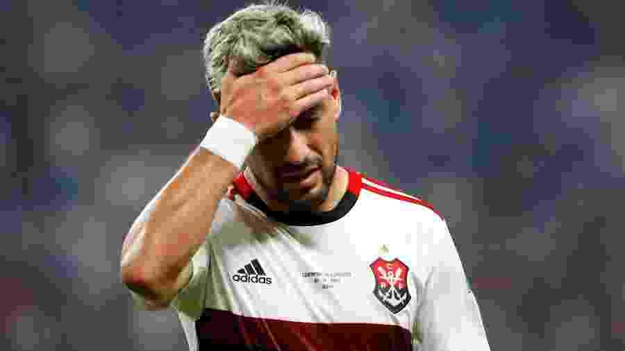O perfil da Uefa confundiu De Arrascaeta com Reinier - Corinna Kern/Reuters